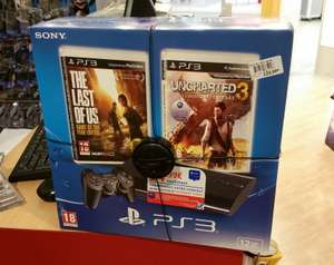 Pack console PS3 12 Go + The Last of Us (GOTY) + Uncharted 3