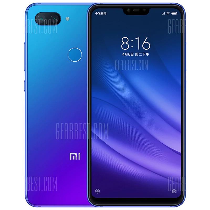 "Smartphone 6.26"" Xiaomi Mi8 Lite Global Version - FHD+, Snapdragon 660, RAM 6Go, 128Go, 4G (B20+B28)"