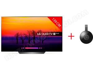 TV 55 OLED LG 55C8 - 4K + Chromecast (via ODR 200€)
