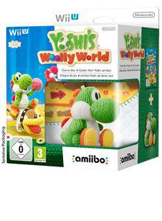 Yoshi's Woolly World Wii U + Amiibo Yoshi Laine
