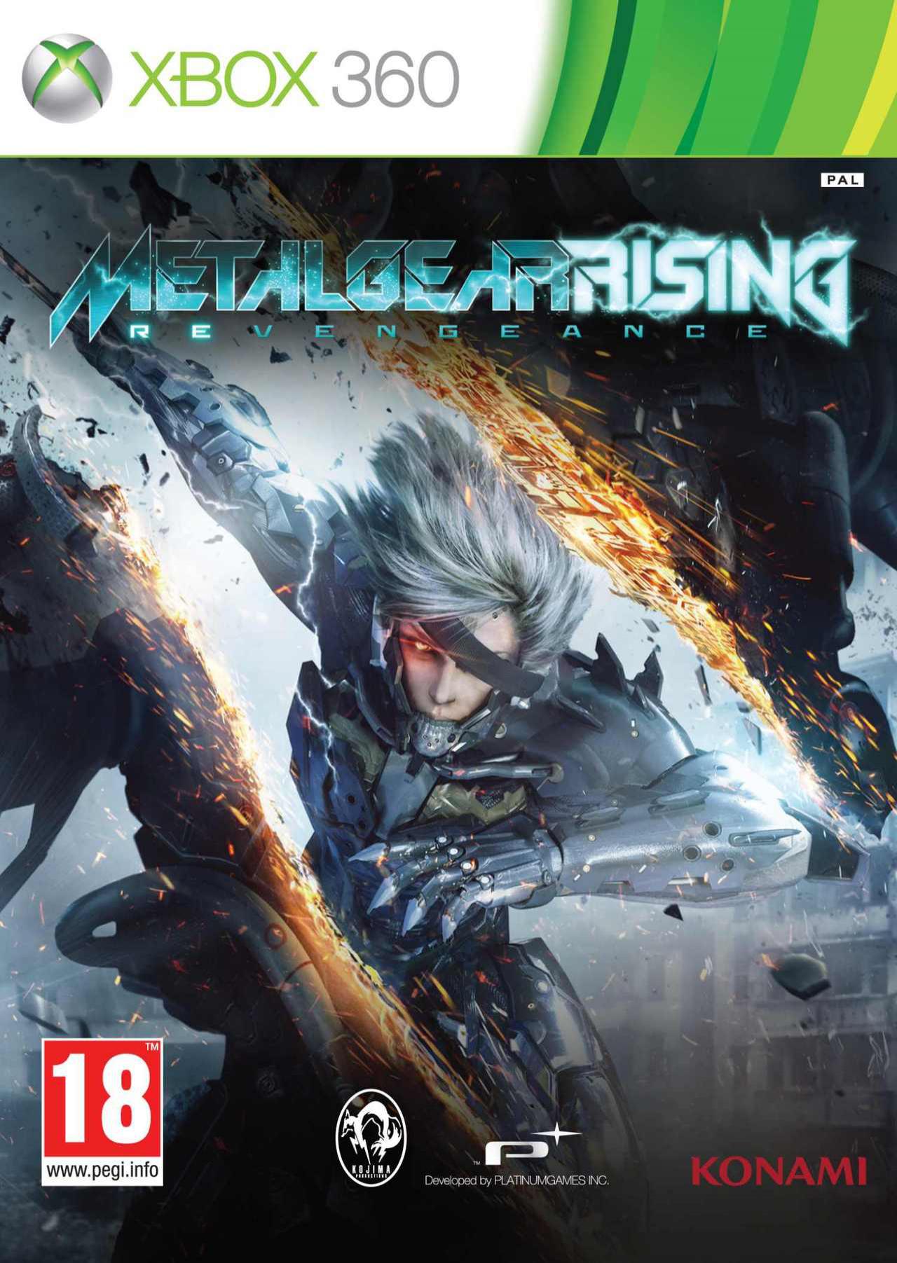 Metal Gear Rising Revengeance sur PS3 et Xbox 360