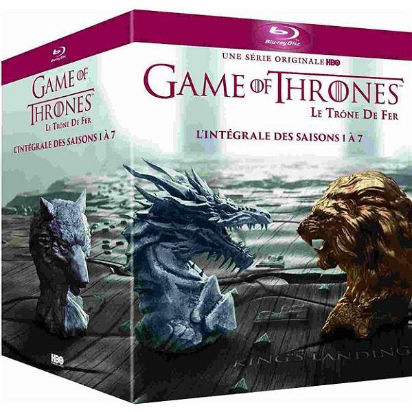 Coffret Blu-ray Game of Thrones - Intégrale des Saisons 1 à 7 (DVD à 29.99€)