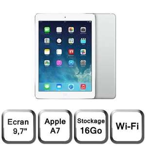 "Tablette 9.7"" iPad Air Wi-Fi Argent 16Go (MD788NF/B)"
