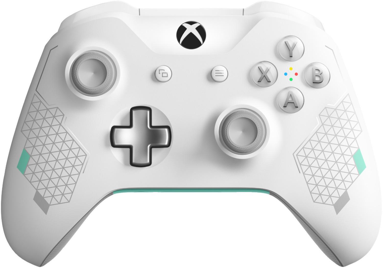 Sélection de manettes Microsoft Xbox One en promotion - Ex : Édition Spéciale Sport White