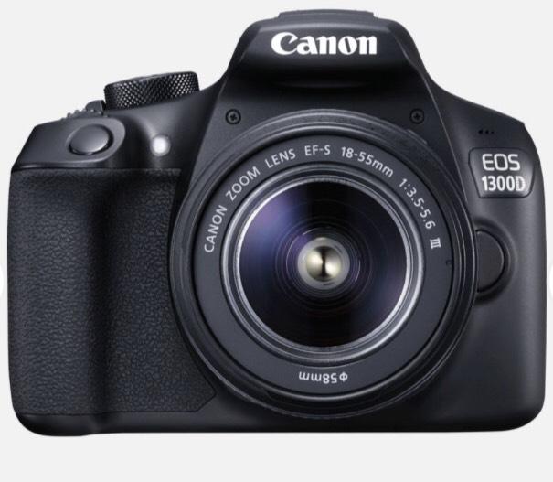 Appareil photo reflex Canon EOS 1300D + Objectif 18-55mm III