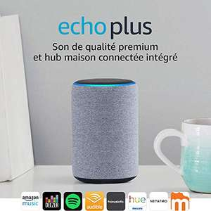 enceinte connect e amazon echo plus 2 me g n ration. Black Bedroom Furniture Sets. Home Design Ideas