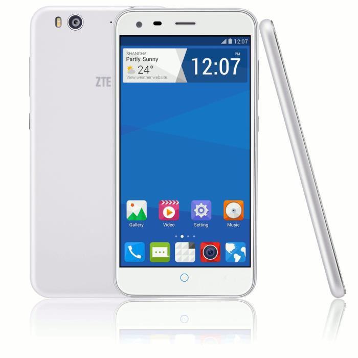 "Smartphone 5"" ZTE Blade S6 + MicroSD PNY 32 Go Classe 10 (avec ODR 30€)"