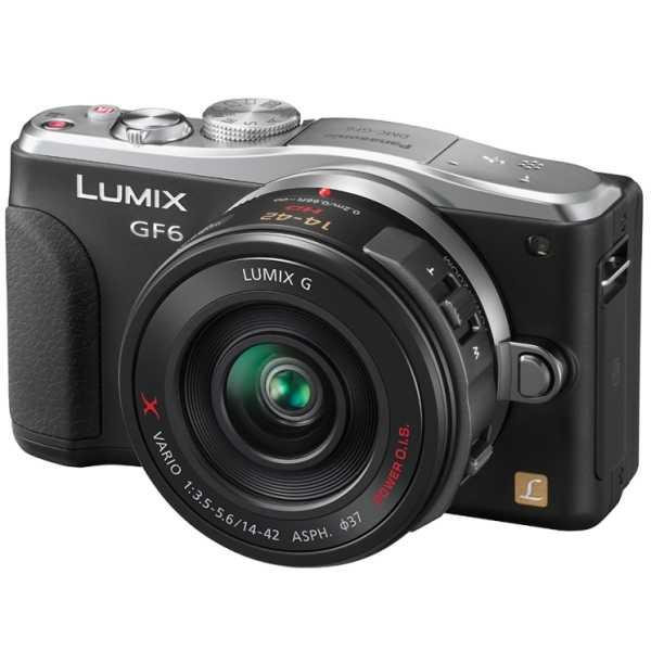 Appareil photo hybride Panasonic DMC-GF6X Noir + 14-42mm Powerzoom