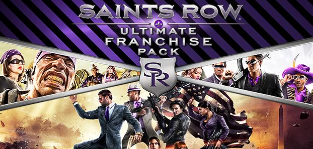 Saints Row Ultimate Franchise Pack sur PC - 3 Jeux + DLCs (Dématérialisé - Steam)
