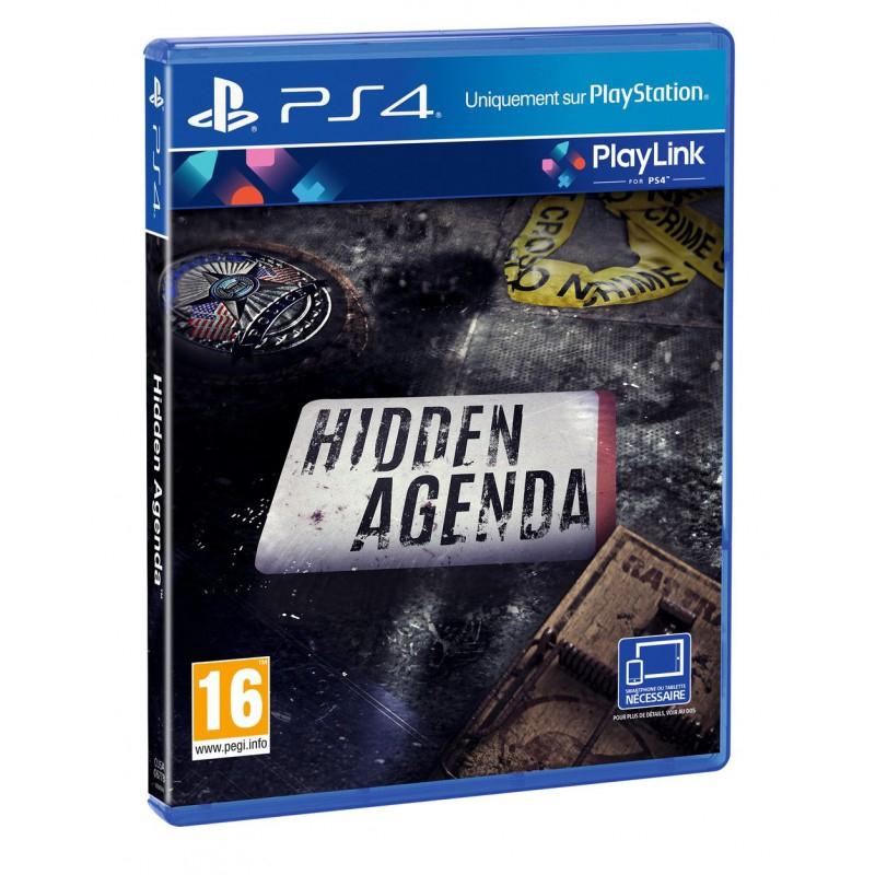 Hidden Agenda sur PS4 (Via l'Application)
