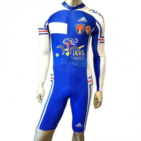 Combinaison vélo Adidas France FFC