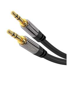 Câble audio Jack 3.5 mm KabelDirekt Pro Series - 10 m