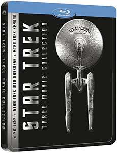 Coffret Blu-ray Star Trek - La Trilogie