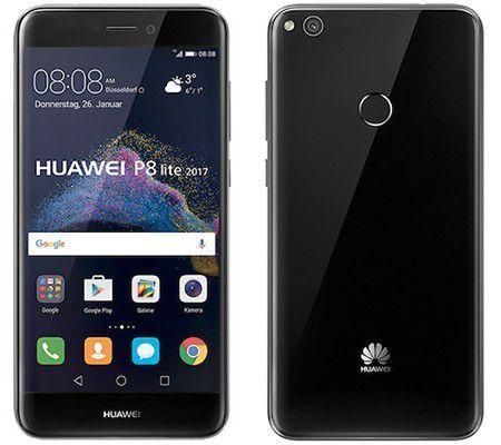 """Smartphone 5.2"""" Huawei P8 Lite 2017 Noir ou blanc - 16Go, 3Go RAM"""