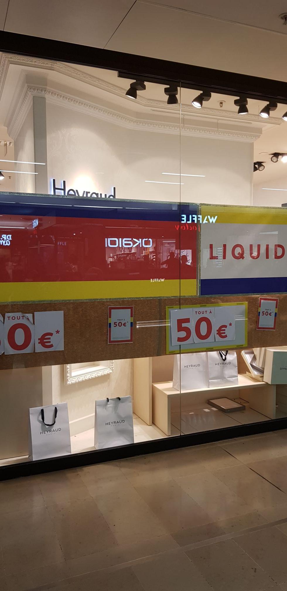 Toute la boutique à 50€ (chaussures et accessoires) - Heyraud (92)