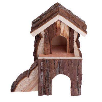 Maison à deux étages pour rongeur (pour cochon d'inde)