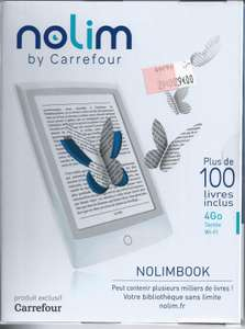 Liseuse ePaper noLim by Carrefour (Bookeen)