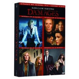 Damages - Saisons 1 à 4 - Coffret 12 DVD - Edition limitée