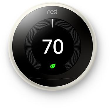 Thermostat Nest Learning Thermostat (V3) - blanc