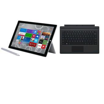 """Tablette 12"""" Microsoft Surface Pro 3 - 128 Go + Clavier Rétroéclairé Microsoft Type Cover (+20€ en chèque cadeau)"""