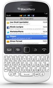 Smartphone Blackberry 9720 Blanc