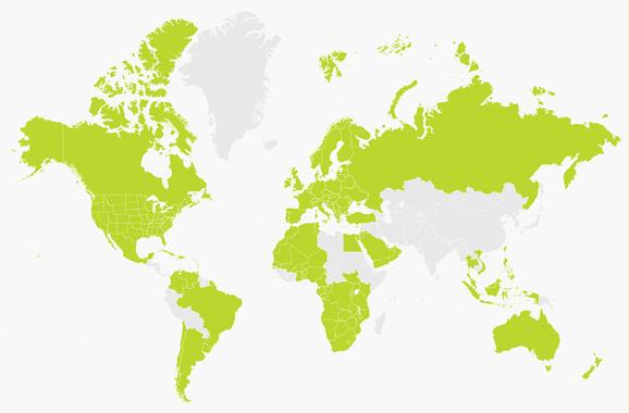 Carte du monde version 10.15 pour GPS Tomtom (Dématérialisé)