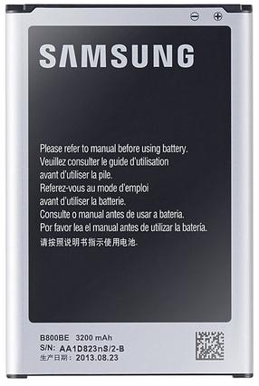 batterie officielle Samsung pour Galaxy note 2