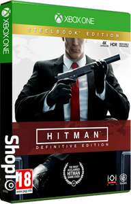 Jeu Hitman: Definitive Edition Steelbook Edition (Xbox One & PS4) à 20,25€ & Definitive Edition à 17,99€