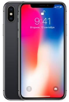 """Smartphone 5.8"""" Apple IPhone X - 64 Go, Gris (+ 81.40€ en SuperPoints) - 794€ avec le code VP20350"""