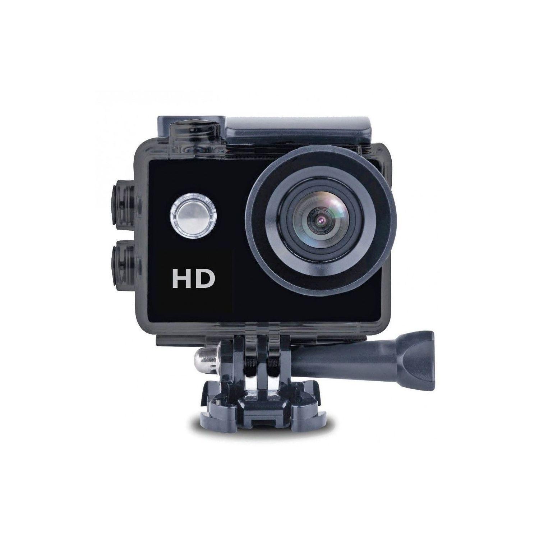 Caméra sportive X'Trem - CS122+ - NoirHD 720p - Waterproof 30m - autonomie 2h - Micro - Objectif 1,3Mp CMOS