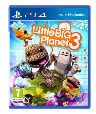 Jeu Little Big Planet 3 sur PS4