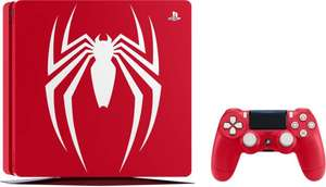 [Carte Cumulus] Console Sony PS4 (1 To, Édition Limitée Spider-Man) + Marvel's Spider-Man (frontaliers Suisse)