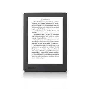 """Liseuse 6.8"""" Kobo Aura H2O - 2nd Edition, 8 Go Black (Frontaliers Suisse)"""