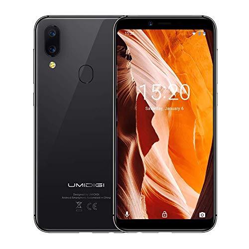 "Smartphone 5.5"" Umidigi A3 - Android 8.1; MT6739, RAM 2Go + 16Go (Vendeur Tiers)"