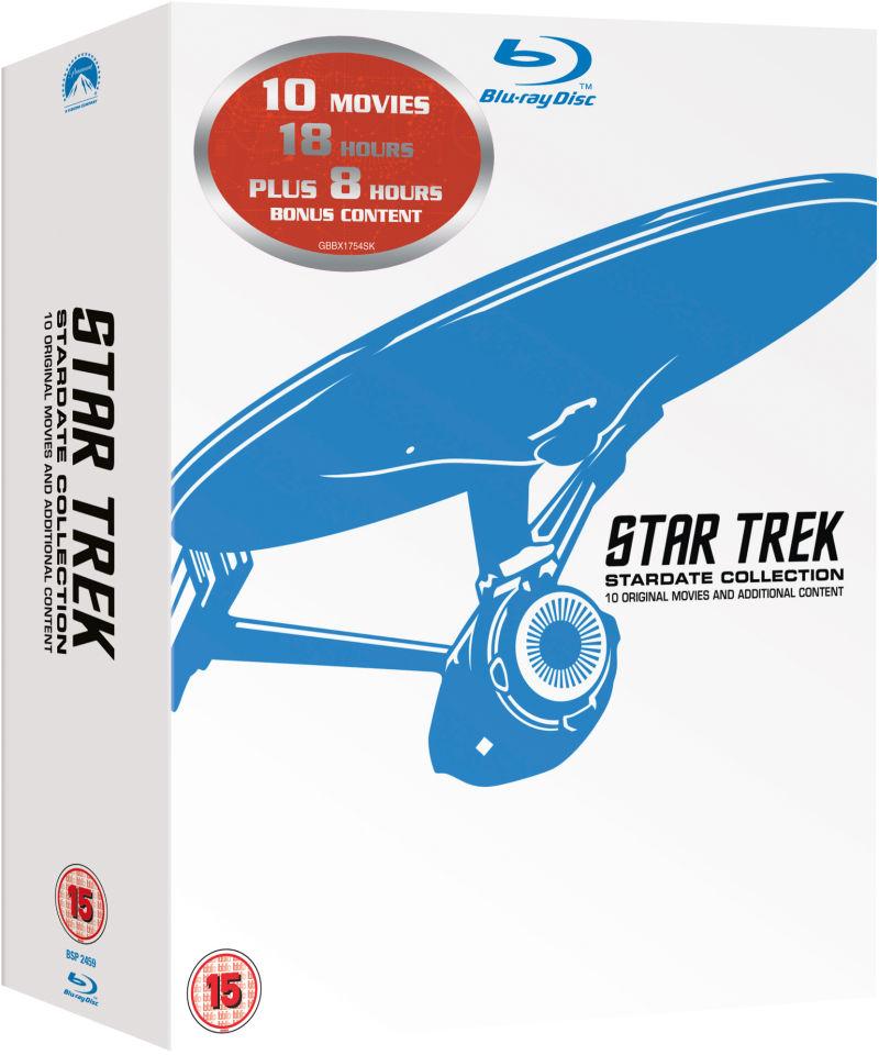 Coffret Blu-Ray Star Trek Films 1 à 10