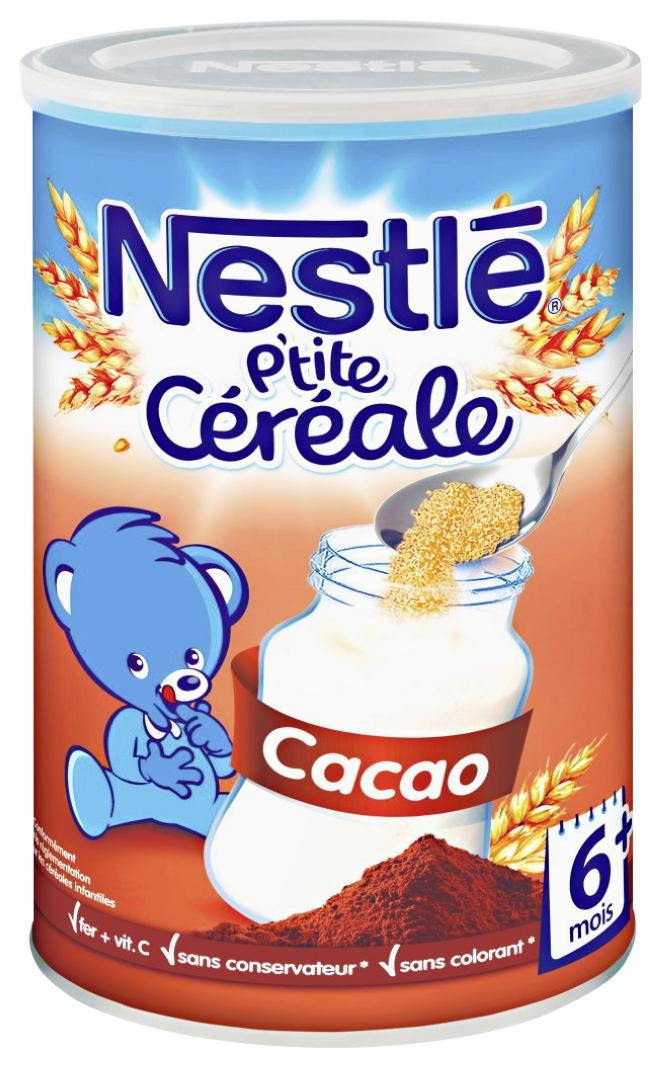P'tite céréale cacao Nestlé (avantage carte + BDR)