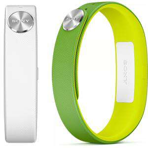 Bracelet Sony Smartband SWR10 avec 2 bracelets (Brésil et blanc)
