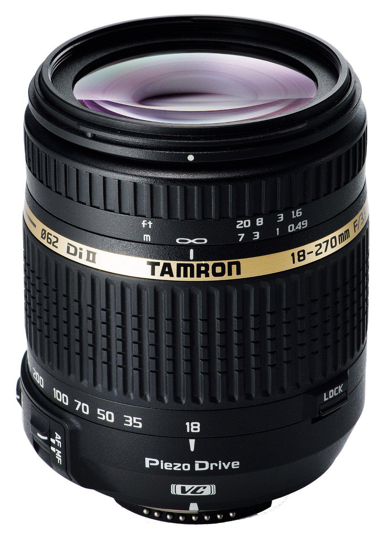 Objectif Tamron 18-270mm F/3,5-6,3 Di II VC PZD - Nikon ou Canon