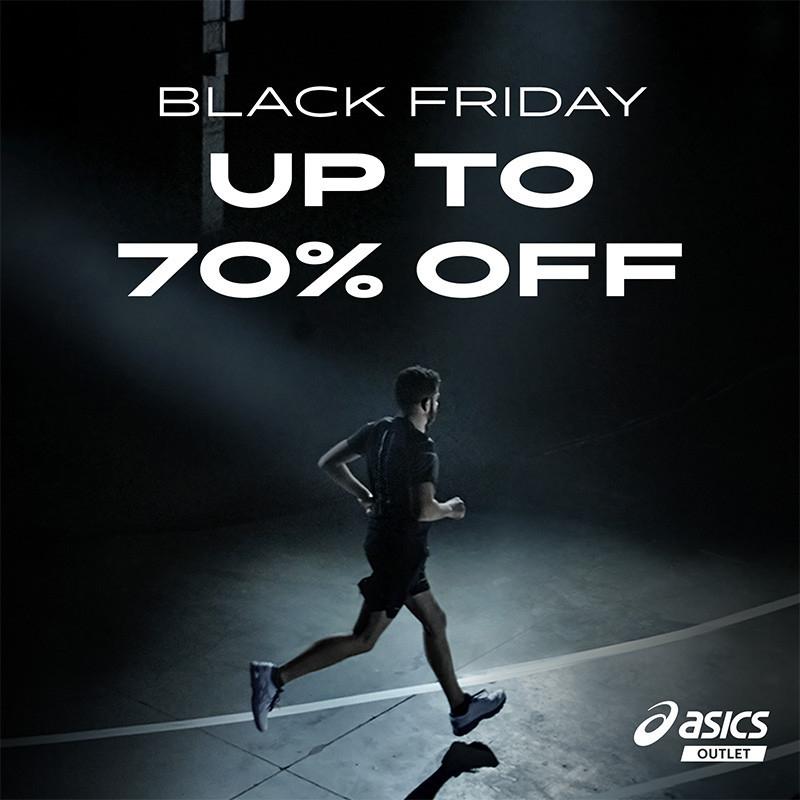 Jusqu'à 70% de réduction sur tout Asics Outlet + 10% de réduction supplémentaire + Livraison gratuite sans minimum d'achat