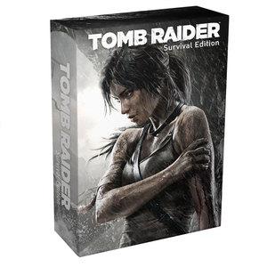 Pré-commande : Tomb Raider Edition limitée Survival Edition (sur PC, PS3 et XBOX 360) = 20€ en chèque cadeau