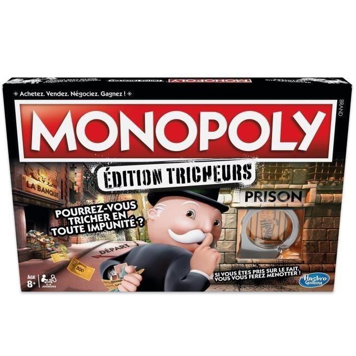 Monopoly tricheurs édition 2018 (Via 3.30€ sur la Carte Fidélité)