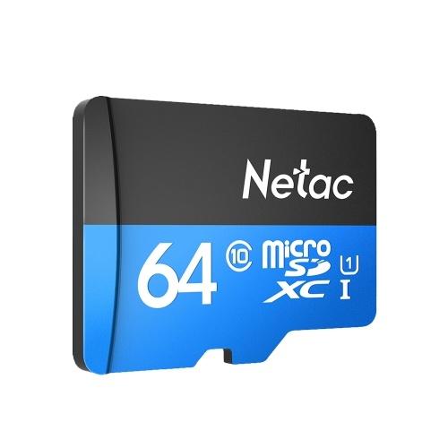 Carte microSDXC Netac P500 Classe 10 - 64 Go