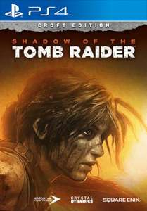Shadow of the Tomb Raider - Croft Edition sur PS4
