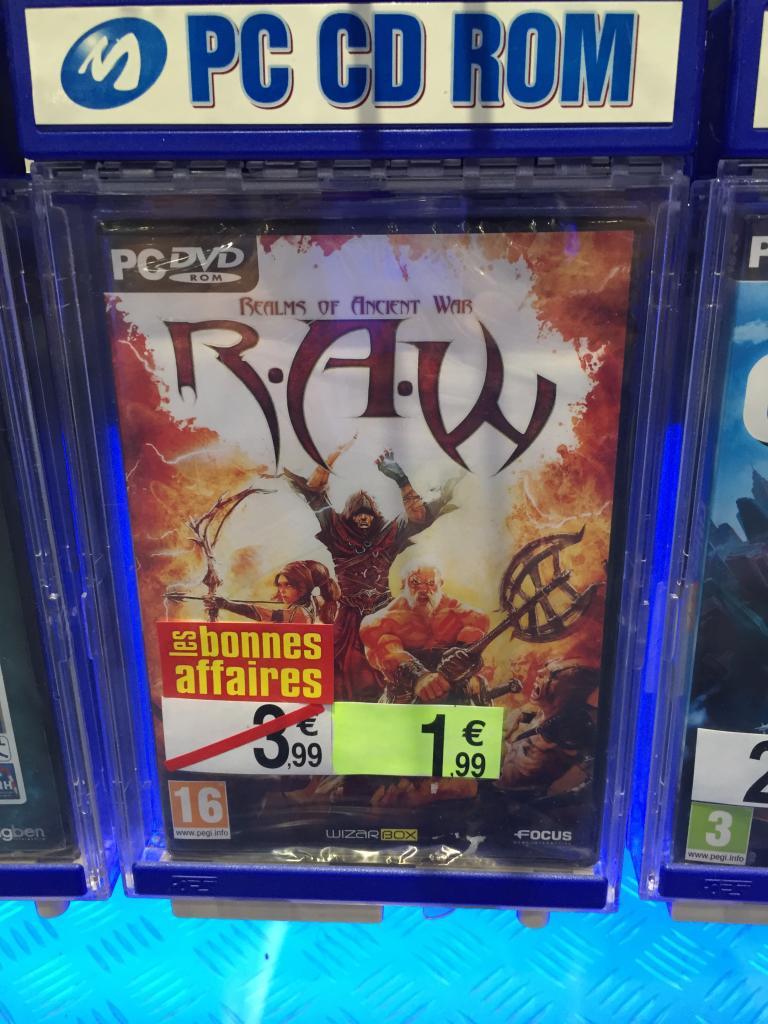 R.A.W. Realms of Ancient War sur PC