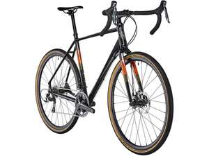 "Vélo cyclo-cross / gravel 28"" Serious Grafix (2018) - noir (du 50 au 60 cm)"