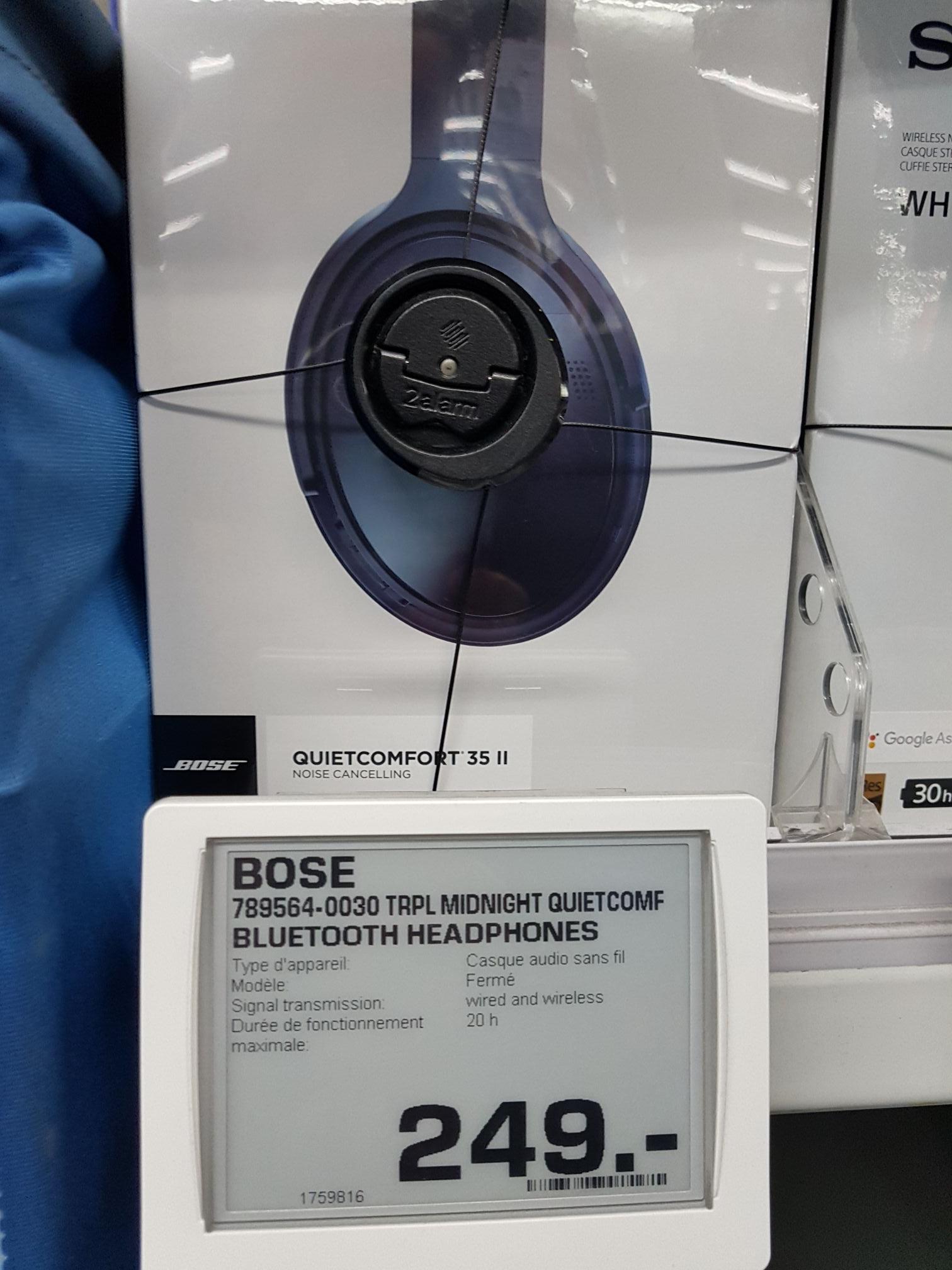 casque bluetooth bose quietcomfort 35 ii qc35 v2. Black Bedroom Furniture Sets. Home Design Ideas