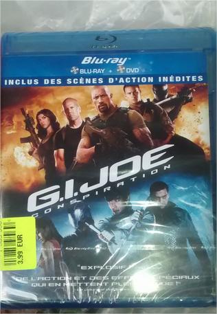 Sélection de Blu-ray en promotion - Ex: Nuit blanche ou G.I. Joe: Conspiration