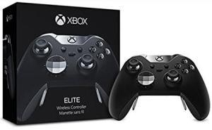 Manette Microsoft Xbox One Elite + Gears of War 4 sur Xbox One (dématérialisé)