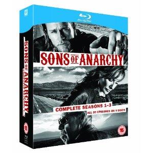 Sons of Anarchy intégrale saisons 1 à 3 blu-ray
