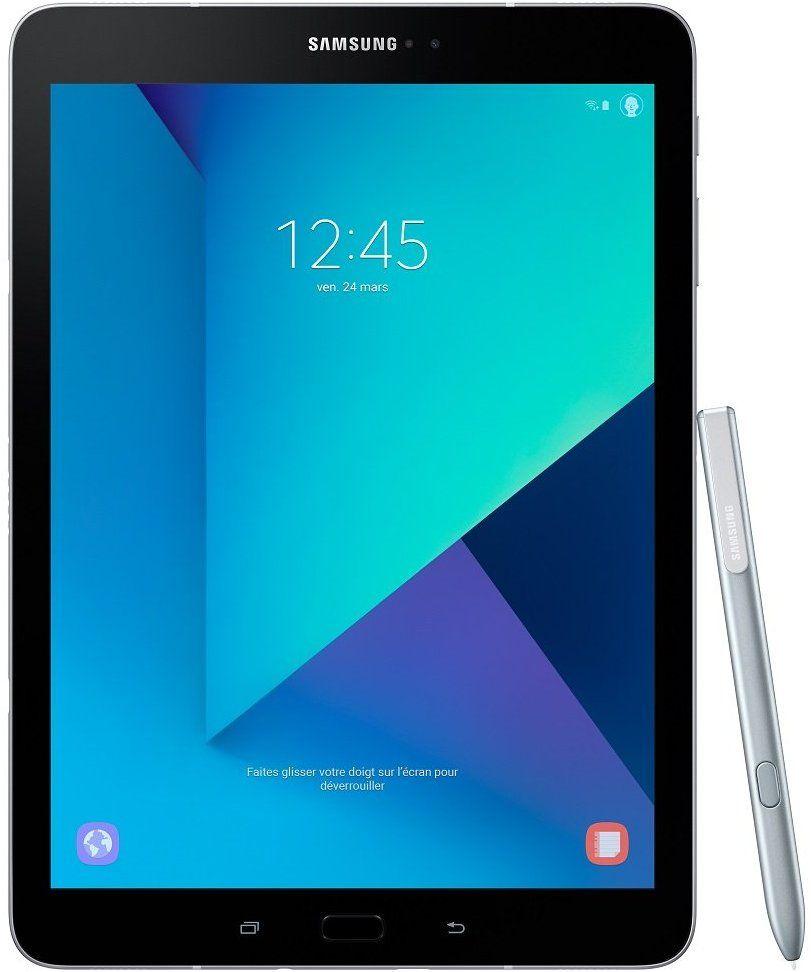 """Tablette 9,7"""" Samsung Galaxy Tab S3 - 2048 x 1536, HDR, Snapdragon 820, 4 Go RAM, 32 Go"""